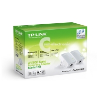 TP-LINK AV500 Nano-Powerline Adapter Starter Kit